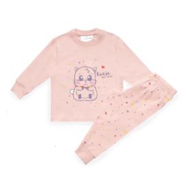 Frogs and dogs - kraamcadeau - meisjes - Hamster - baby/peuter - pyjama / BESCHIKBAAR SEPTEMBER