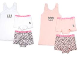 Funderwear - kleuter/kinder/tiener - Ondergoed sets - Kitty - 1+1