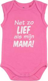 Rompertje - net zo lief als mama - in mint,roze of blauw