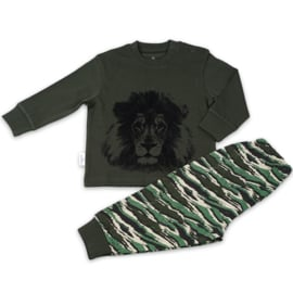 Frogs and dogs - Lion/Leeuw - kinder-tiener - Jongens - pyjama