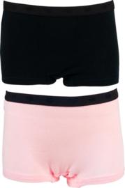 Funderwear- slips-hipsters - 2 stuks /roze en zwart