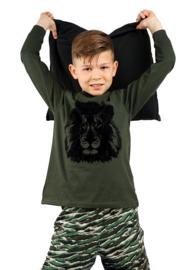 Frogs and dogs - Lion/Leeuw - jongens - kleuter-kinder - pyjama