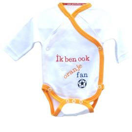 Oranje - romper- Oranje fan