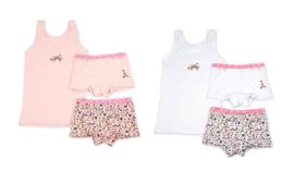 Funderwear - kleuter/kinder/tiener - Ondergoed sets - Sweetie- 1+1