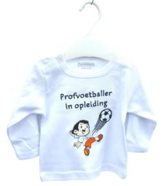Oranje - shirt - Profvoetballer in opleiding