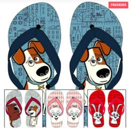 Huisdiergeheimen teen slippers
