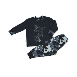 Frogs & Dogs - kleuter/kinder - jongens - pyjama - Haai