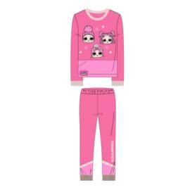 LOL Surprise-  velours pyjama - roze