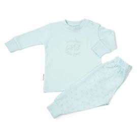 Frogs and Dogs kraamcadeau- pyjama - in Roze of Blauw