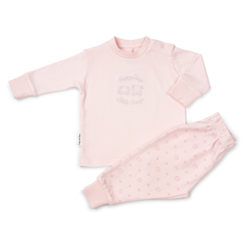 Frogs and Dogs kraamcadeau- pyjama - in Roze