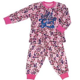 Frogs en Dogs - Wild Girl pyjama - hippe panter print