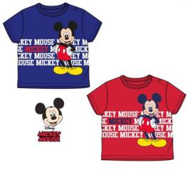 Mickey Mouse katoenen zomer shirt