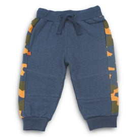 Frogs and Dogs - joggingbroek blauw/camouflage - unisex