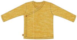 Frogs and Dogs - kraamcadeau / baby - jongens - lemon - wrap/wikkel shirt / BESCHIKBAAR SEPTEMBER