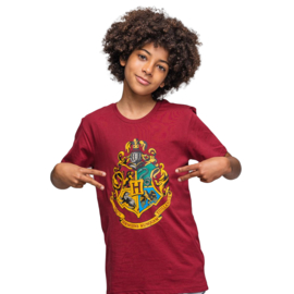 Harry Potter - shortama / zomerset / rood/ 100% French Terry Katoen - DEAL