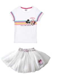 Minnie Mouse zomerset / Roze of Wit