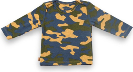 Frogs and Dogs - longsleeve camouflage - unisex