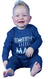 Fun2wear - mama - pyjama - kraamcadeau - baby/peuter-  in roze of blauw