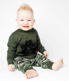 Frogs and dogs - kraamcadeau - jongens - Lion/Leeuw - baby/peuter - pyjama