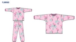 Frogs and dogs  - Flamingo  - kleuter-kinder - meisjes - pyjama / BESCHIKBAAR HALF AUGUSTUS