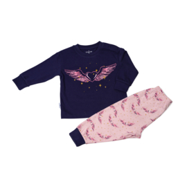 Frogs & Dogs - peuter/kleuter/kinder/tiener - meisjes - pyjama - Unicorn Heart