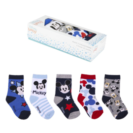 Mickey Mouse   - baby sokjes -  in cadeaudoos