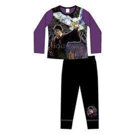 Harry Potter - kinder / tiener meisjes pyjama-paars