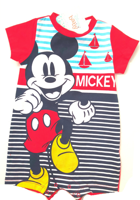 Mickey Mouse katoenen zomerpakje