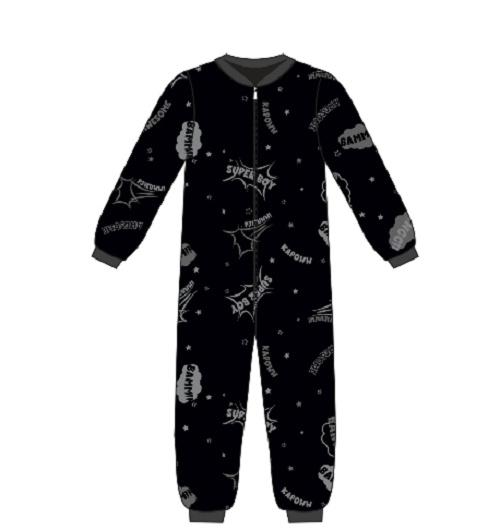 Frogs and dogs  - Superboy- all over print  - kleuter-kinder - jongens - pyjama / BESCHIKBAAR 6 NOVEMBER