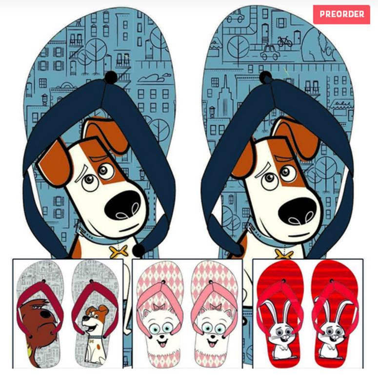 Huisdiergeheimen teen slippers - DEAL