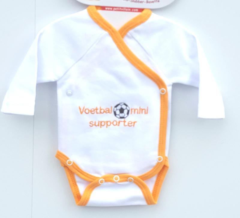 Oranje - romper- Voetbal Supporter