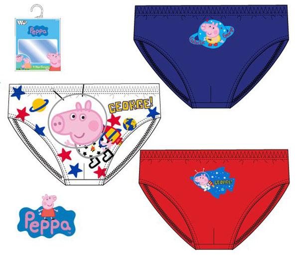 Peppa Pig  jongens ondergoed 3 stuks