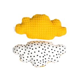 Rammelaar | Wolk | monochrome dots & okergeel
