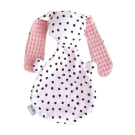 Knijntje   Monochrome dots & dusty pink