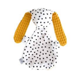 Knijntje   Monochrome dots & mustard