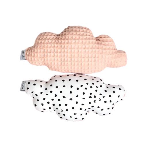 Rammelaar | Wolk | monochrome dots & poederroze