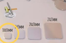 Vierkant 10mm (10 stuks)