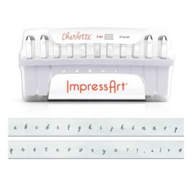 Charlotte - kleine letters, 3mm