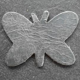Leer Vlinder Kl. - Effen (LVS012)