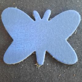 Leer Vlinder Kl. - Effen (LVS019)