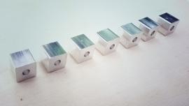 Blokje aluminium 10mm