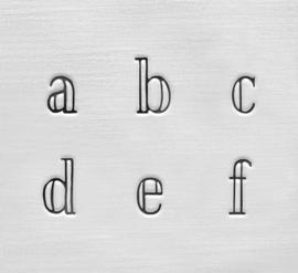 Arcadia - kleine letters, 3mm