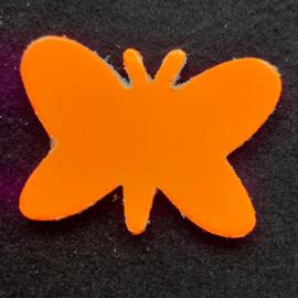 Leer Vlinder Kl. - Effen (LVS015)