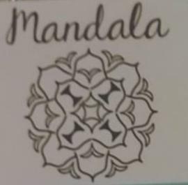 Mandala - Serie 3, set van 4 stempels (ImpressArt)