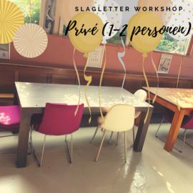 Prive workshop in Langeweg - duur 2 uur