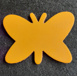 Leer: Vlinder - Effen (LVL008)