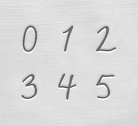 Charlotte - cijfers, 3mm