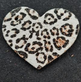 Hart groot - Dierenprint (LHL006)