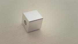 Blokje aluminium 8mm