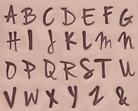 Jenna Sue - hoofdletters, 3mm
